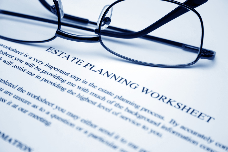 Houston estate planning worksheet